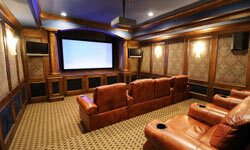 Image Gallery: Home Theaters You can transform your home theater into a room that captures the movie magic of the real thing. See more pictures of home theaters.