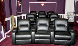 If you're willing to spend some money, you can snag some ultra-cushy seating.