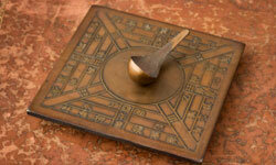 An example of the earliest Chinese compass, used to read a person's destiny, not lead him out of the woods.