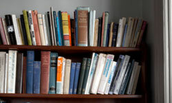 Get an idea of how much your books are worth by searching online.