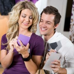 If you're having a couples shower, it's especially fun for the guests to see how much the engaged duo know -- or don't know -- about each other.