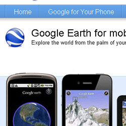 Google Earth's handy mobile apps are just one way to stay connected while out in the Wild Green Yonder.