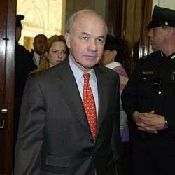 Kenneth Lay died of a heart attack just a few months after his conviction.