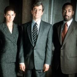 Cast members from Law & Order.