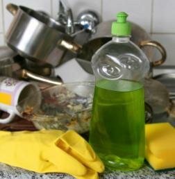 Clean your kitchen with green power.
