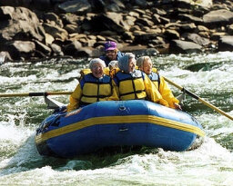 Family Vacations: River Rafting on the Upper New River