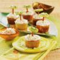 Recipe: Tropical Luau Cupcakes