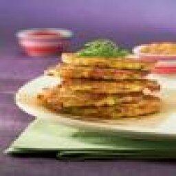 Ham and Potato Pancakes