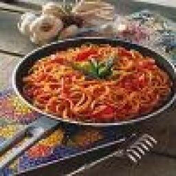 Linguine with Paprikash Sauce
