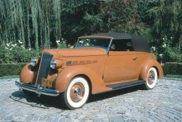 1936 Packard One Twenty LeBaron Convertible Victoria
