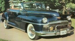 1948 DeSoto Custom Convertible