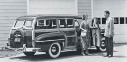 1950 Dodge Coronet Woody Wagon