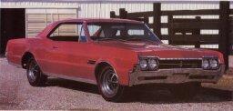 1966 Oldsmobile Cutlass 4-4-2