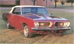 1967-1969 Plymouth Barracuda 383/440