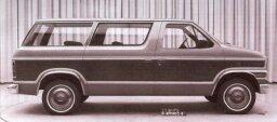 1972 Ford Carousel Minivan Concept Car