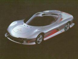 1989 Mitsubishi HSR Concept Car