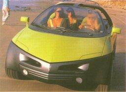 1989 Pontiac Stinger Concept Car