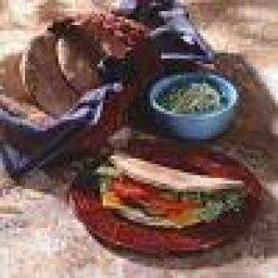 Veggie Pita Wraps