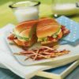 Grilled Cobb Salad Sandwiches
