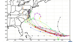How Do Spaghetti Models Predict a Hurricane's Path?