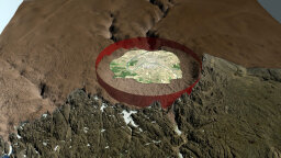 Greenland Crater First Ever Found Beneath Glacial Ice Sheet