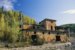 What happens to abandoned mines?
