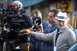 What does 'above the line' mean in movie production?