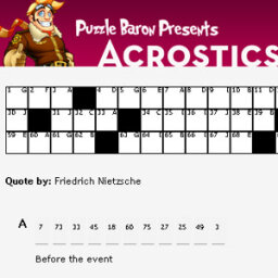 How Acrostic Puzzles Work