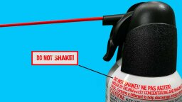 Why Compressed Air Canisters Shouldn't Be Shaken