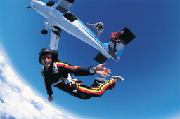 What if you fell out of an airplane without a parachute?