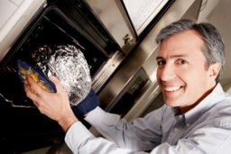 What if I put aluminum foil in the microwave?