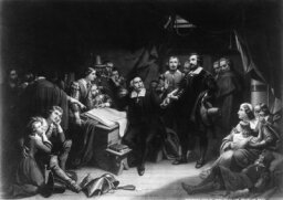 Who was America's first murderer?