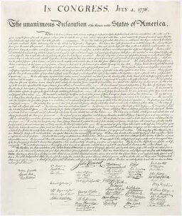 July 4 1776: American Independence Day