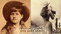 Why Annie Oakley Was America's Sharpshooting Sweetheart