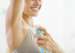 How do antiperspirants keep you from sweating?