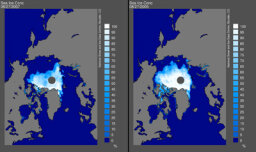 Why is Arctic ice melting 50 years too fast?
