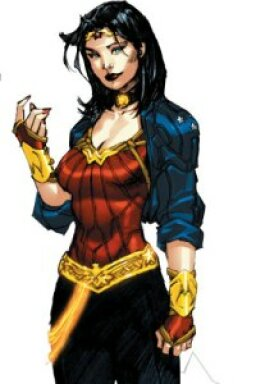 Wonder Woman's Changing Clothes