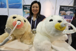 How can a baby robot seal be a medical device?