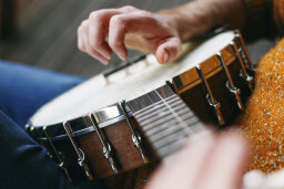 Why do banjos sound so twangy?