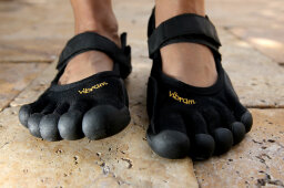 How Barefoot Running Shoes Work