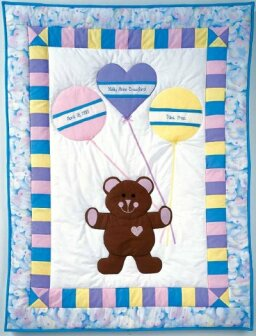 Birth Bear Baby Quilt Pattern