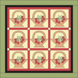 Bounty of Baskets Quilt Pattern