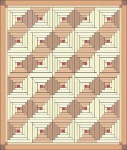 Cabin Warmth Quilt Pattern