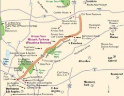 California Scenic Drives: Arroyo Seco Parkway