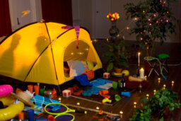 Rained Out? Bring the Campout Indoors