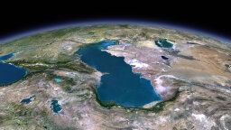 The Caspian Sea Is Evaporating Due to Rising Average Temperatures