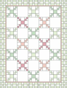 Chained Medley Quilt Pattern