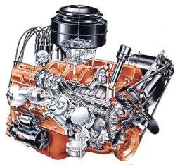 Chevy 265-cid V-8 Engine