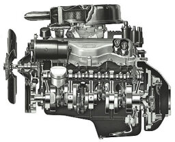 Chevy 409-cid V-8 Engine