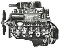 Chevy 409-cid V-8 Engine